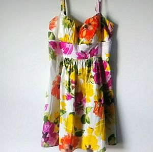 B Smart Women 16 floral career summer dress